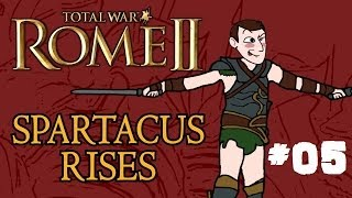 Total War: Rome 2 - Spartacus Rises - Part 5 - Dealing with Rebels!
