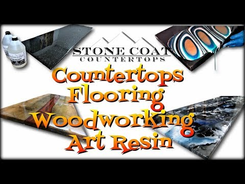 Epoxy Countertops, Epoxy Flooring, Epoxy Woodworking, & Epoxy Art
