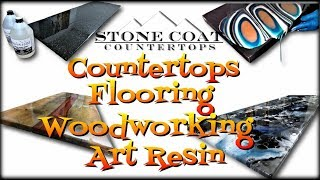 Epoxy Countertops, Epoxy Flooring, Epoxy Woodworking, & Epoxy Art
