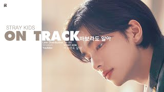 Gambar cover Stray Kids - Mixtape : On Track Line Distribution (Color Coded) | 스트레이 키즈 - 바보라도 알아