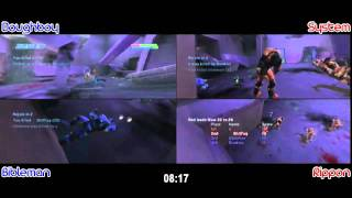 Rippon & System vs Bibleman & Doughboy - Chill Out 2v2 DUAL POV ( March 2011 ) 50-49