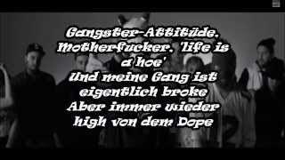 Cro Meine Gang Lyrics Video