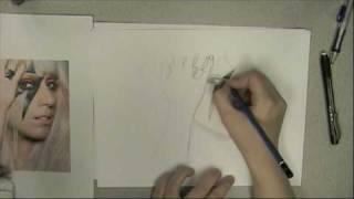 Drawing Gaga
