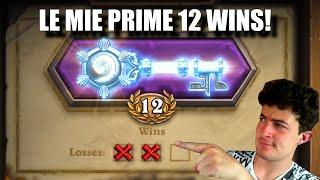 LE MIE PRIME 12 WIN IN ARENA! - Hearthstone ITA