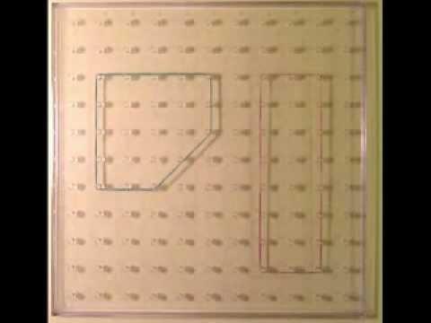 nombres pairs et impairs avec le géoplan