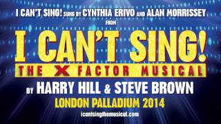 I Can T Sing Cynthia Erivo Alan Morrissey Icantsing The XFactor Musical
