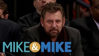 Greeny Blames James Dolan For Knicks Woes | Mike & Mike | ESPN