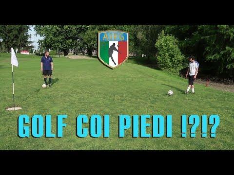 Golf coi piedi!?