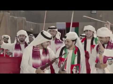 Uae creates a song for qatar