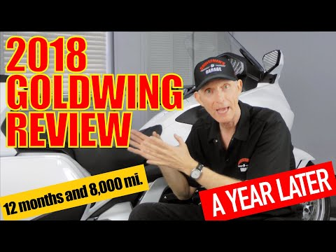 2018 Honda Goldwing Long-Term Review