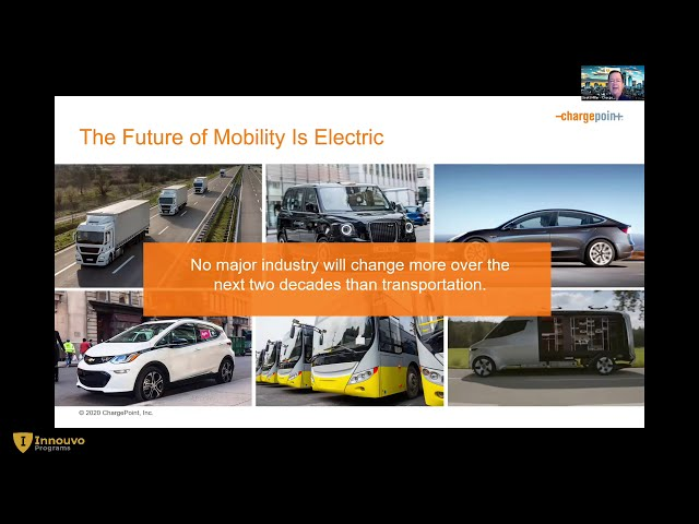 The Future of Mobility is Electric - Chargepoint
