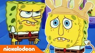 Губка Боб Квадратные Штаны | Пятиминутка с Губкой Бобом | Каменная бездна | Nickelodeon Россия