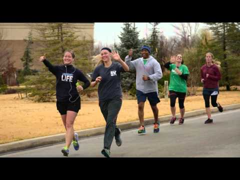 PCG Members, Herbert W. Armstrong College Students Race in 5K