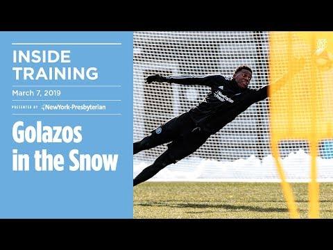 Golazos in the Snow | INSIDE TRAINING
