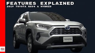 2019 Toyota RAV4 & Hybrid Features Explained