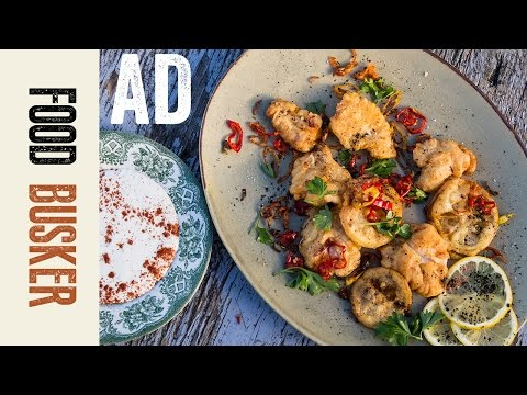 Cod Cheeks AD​ ​​| Food Busker​ ​ | John Quilter