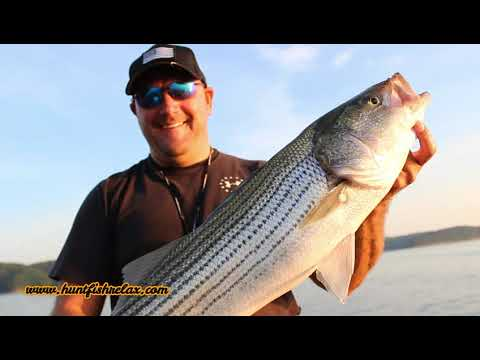 Striper Fishing On Lake Cumberland