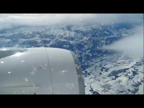 Flight from Dubai, UAE to Zürich, Switzerland