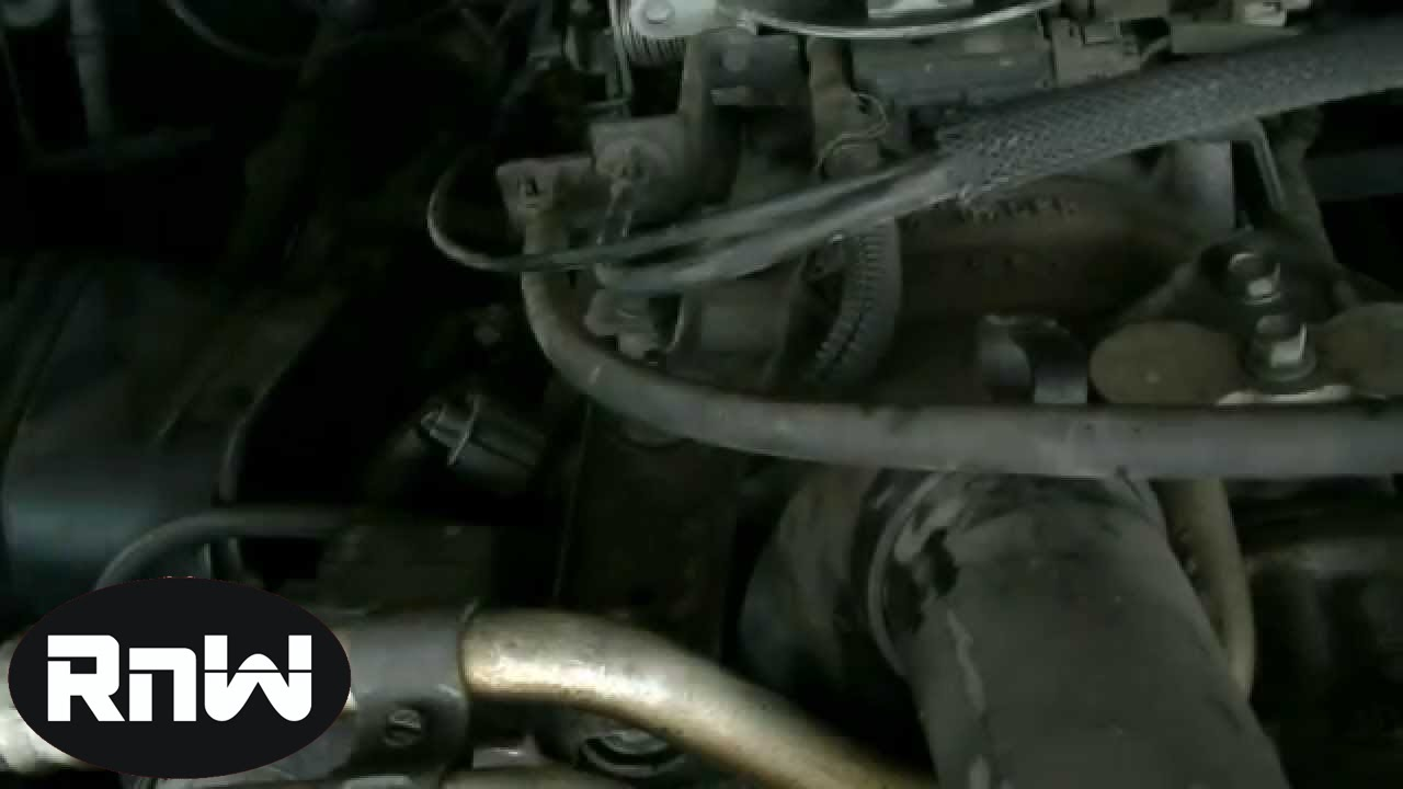Dodge Ram 1500 5 9l Thermostat Removal Part 1 Youtube
