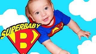 Baby Alive Doll Taking A Bath and Huge Scary Ant Attacks-Superman To The Rescue-Funny Kids Video