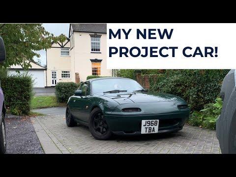 I BOUGHT A MAZDA MIATA (MX5/Eunos Roadster Project)