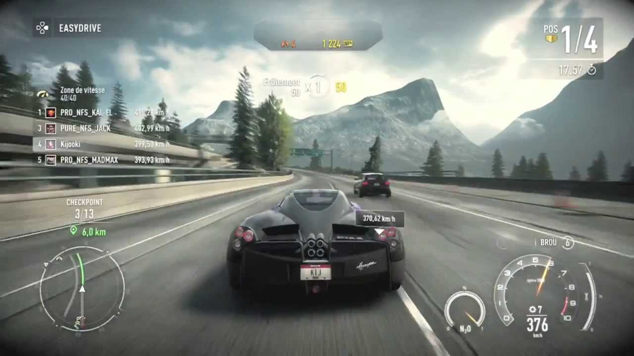 Need For Speed Rivals - Eastwood - Race in 1:20.89