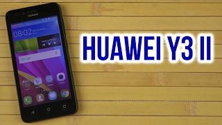 распаковка Huawei Y3 II Black