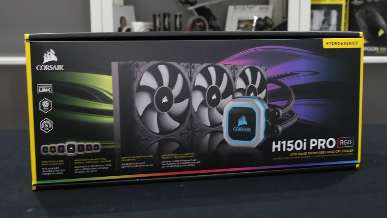 Corsair H150i Pro RGB and H115i Pro RGB AIO Review