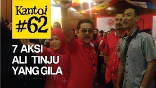 7 aksi Ali Tinju gila tapi masih cinta Najib Rosmah (Muhyiddin, Maria Chin, Malaysia Kini...)