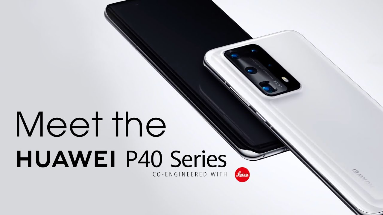 HUAWEI P40 Series - The Arrival of #VisionaryPhotography