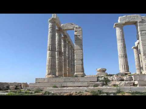 Temple of Poseidon - Cape Sounion, Greece.