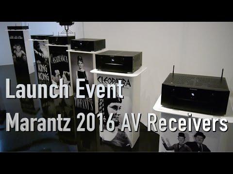 Marantz launch 2016 AV Receiver range including SR7011