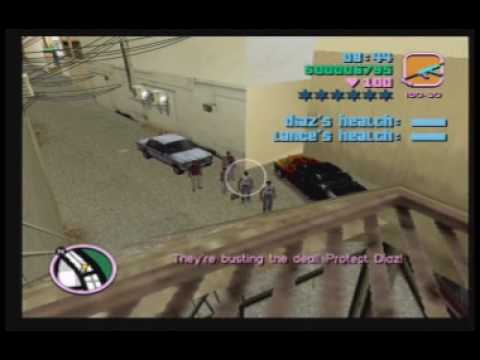 "Grand Theft Auto: Vice City: Mission #11 - ""Guardian Angels"""