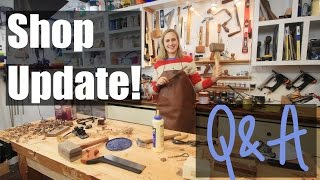 Shop Update - Q & A - How Do I Begin Woodworking?