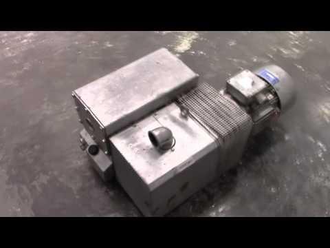 Used Sogevac 7 Horsepower Vacuum Pump C3653