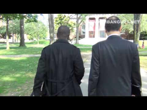 Papa Armand Diangienda visite HARVARD UNIVERSITY part#1