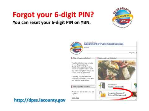 Los Angeles County DPSS YourBenefitsNow (YBN) Instructional Video