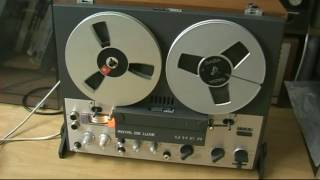 Uher Royal De Luxe 4 Spur Stereo Generalüberholt