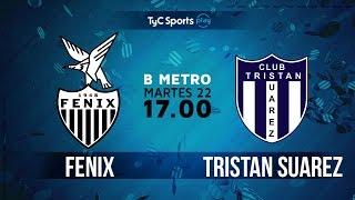 CA Fenix vs Tristan Suarez full match