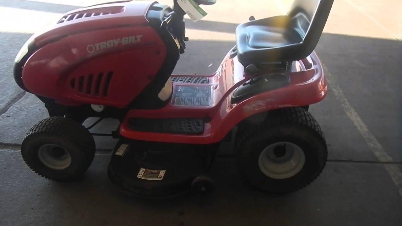 Troy Bilt Riding Lawn Mower Youtube