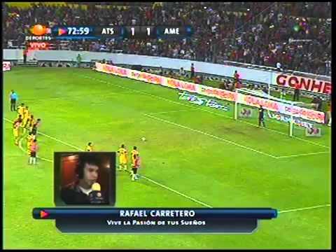 El gol peor narrado en la historia del futbol - Atlas 2-1 América - Narrado por Rafael Carretero