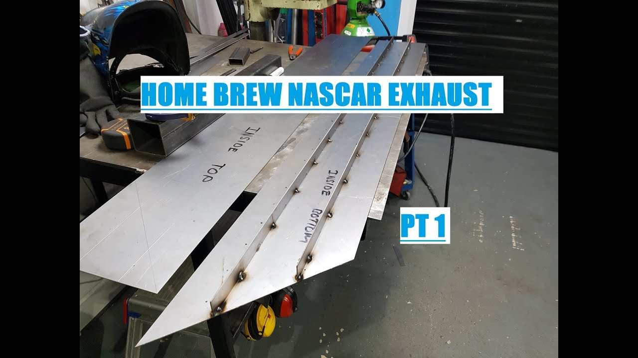 nascar style exhaust for the insignia part 1