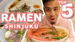 Tokyo Ramen Top 5 Must Eat at Shinjuku | Japanese Food Guide