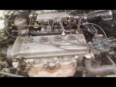 Что Стучит в Двигателе !?! 5Е Toyota Corsa (Toyota Tercel)