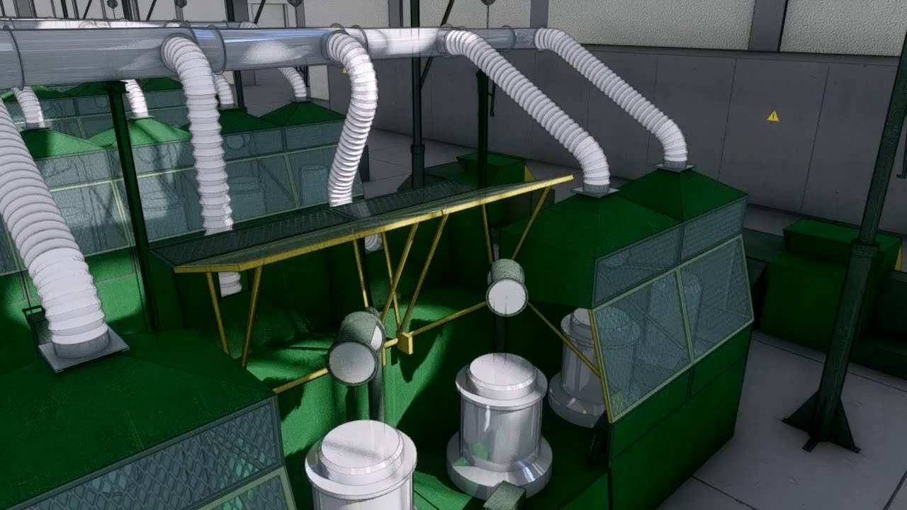 Производственная аспирация и пылеудаление _ Industrial aspiration and dust extraction.