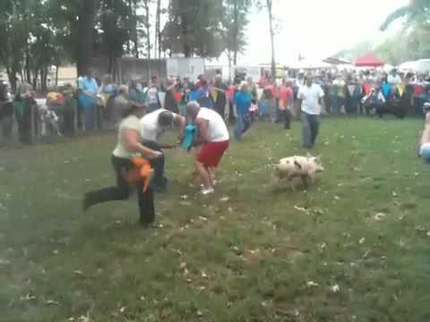 Dress a pig contest 2010 ben wheeler tx