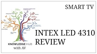 INTEX LED 4310 FHD REVIEW (HINDI)