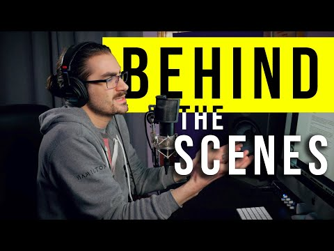 Recording a Solo Podcast / Narration | BEHIND THE SCENES