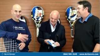 Babolat Top Stringer - How Hybrid Tennis String Works