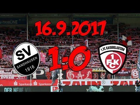 SV Sandhausen 1:0 1. FC Kaiserslautern - 16.9.2017 - Und schonwieder keine Punkte FCK...